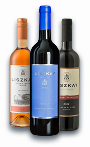 Liszkay wines on sale at